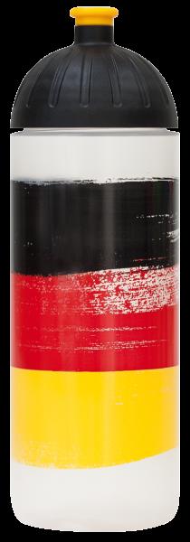 ISYbe Outdoor-Trinkflasche, Deutschland 0,7L, BPA-frei. auslaufsicher, Kohlensäure geeignet