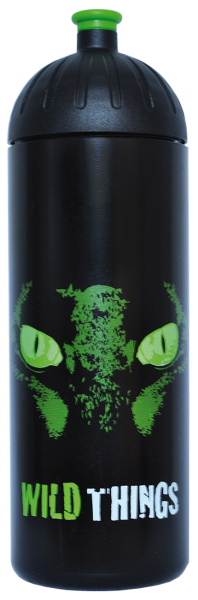 ISYbe Trinkflasche schwarz WildThings 0,7 L