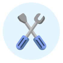 Ersatzteile-Icon