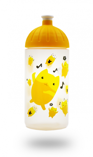 ISYbe Trinkflasche 0,5L Emoji
