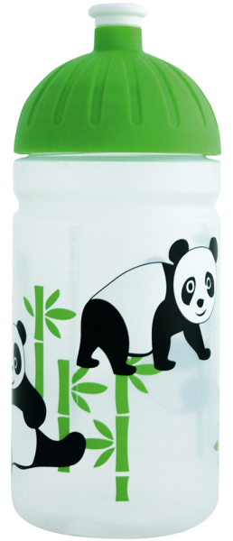 ISYbe Trinkflasche Panda 0,5 L