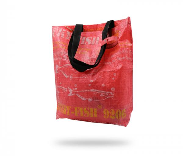 ISYbe Bags Tasche Medium - rot hinten