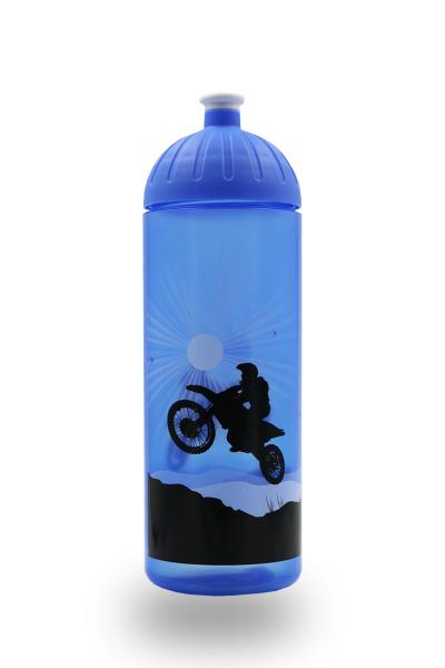 ISYbe Trinkflasche 0,7L blau Motorrad