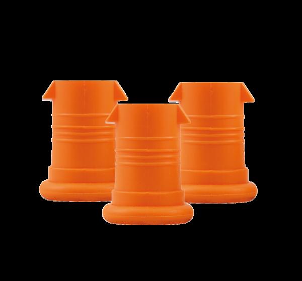 ISYbe Mundstück (3 Stück) - orange