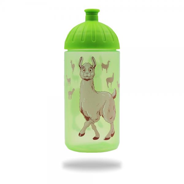 ISYbe Trinkflasche Lama 0,5 L - grün