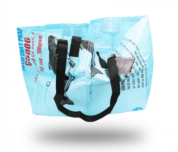 ISYbe Bag Einkaufstasche Groß - blau vorne