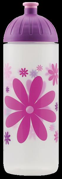ISYbe Outdoor-Trinkflasche, Blume 0,7L, BPA-frei, auslaufsicher, Kohlensäure geeignet