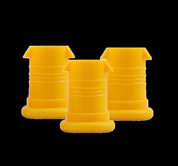 ISYbe Mundstück (3 Stück) - gelb