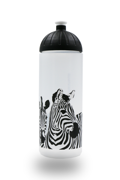 ISYbe Trinkflasche 0,7L Zebra