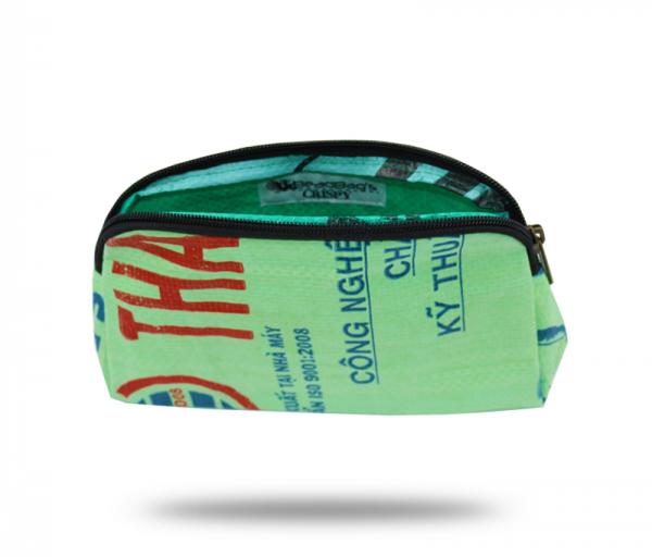 ISYbe Bags Kosmetiktasche - hellgrün vorne