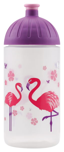 isybe kinder trinkflasche flamingo 0 5l bpa frei. Black Bedroom Furniture Sets. Home Design Ideas