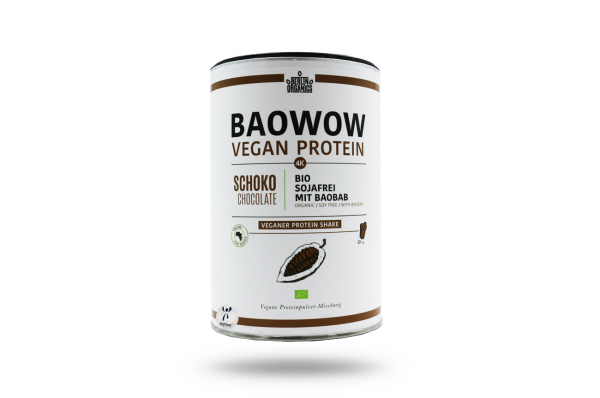 Berlin Organics BIO Vegan Protein Shake BAOWOW Schoko 400 g