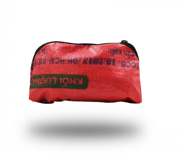 ISYbe Bags Kosmetiktasche - dunkelpink hinten