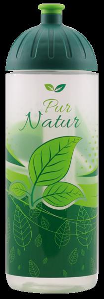 ISYbe Outdoor-Trinkflasche, Pur Natur 0,7L, BPA-frei, auslaufsicher, Kohlensäure geeignet