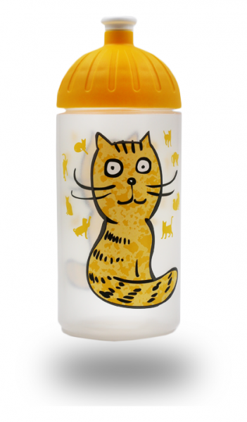 ISYbe Trinkflasche 0,5L Katze