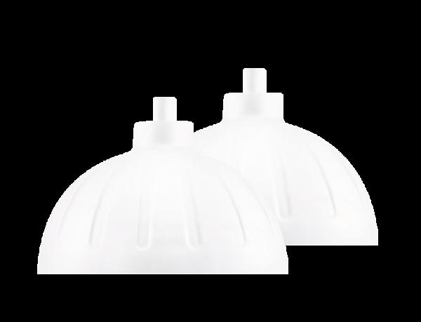 ISYbe Ersatzdeckel (2 Stück) - weiß