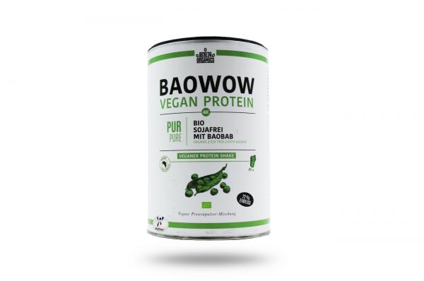Berlin Organics BIO Vegan Protein Shake BAOWOW Pur 400 g