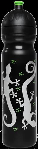ISYbe Trinkflasche schwarz Gecco 1 L