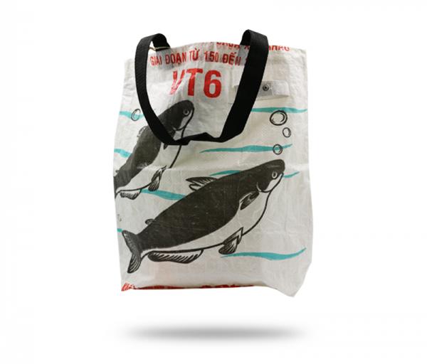 ISYbe Bags Tasche Medium - weiß hinten