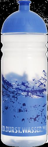 ISYbe Trinkflasche transparent Wasser 0,7 L
