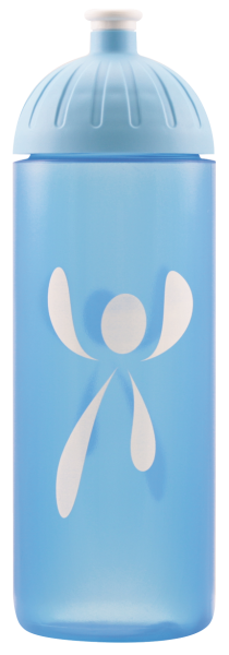 ISYbe Trinkflasche 0,7L Logo Blautransparent