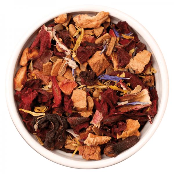 ISYbe BIO Tee: milder Früchtetee mit Gewürzen 100g Inhalt