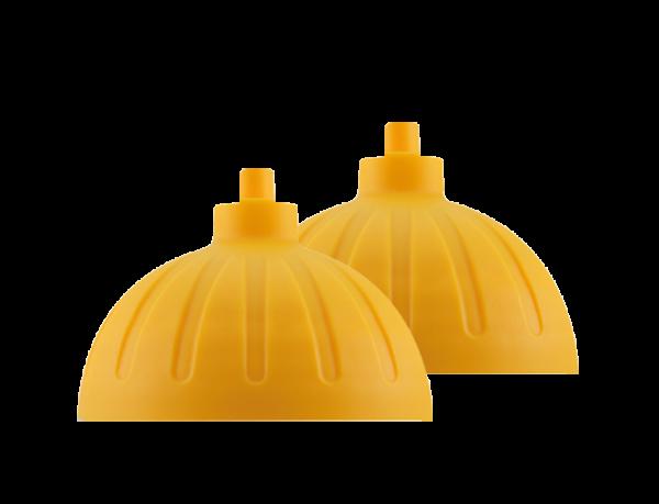 ISYbe Ersatzdeckel (2 Stück) - gelb