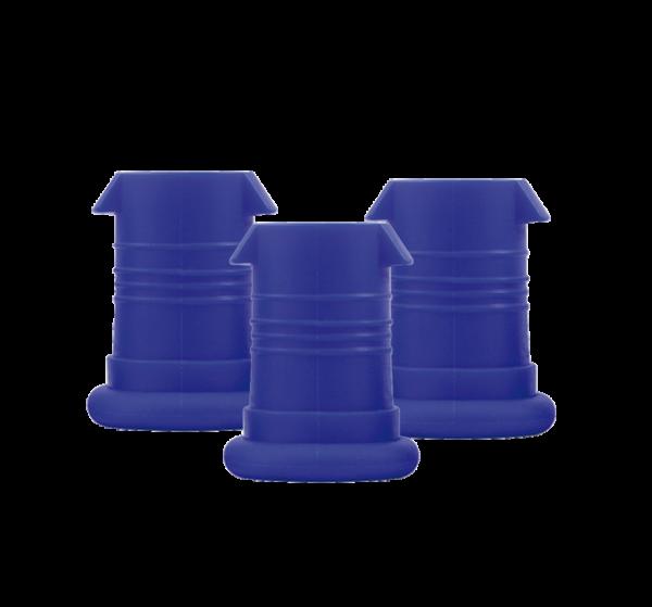 ISYbe Mundstück (3 Stück) - blau