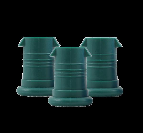 ISYbe Mundstück (3 Stück) - dunkelgrün