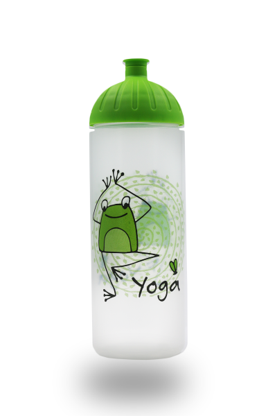 ISYbe Trinkflasche 0,7L Yogafrosch