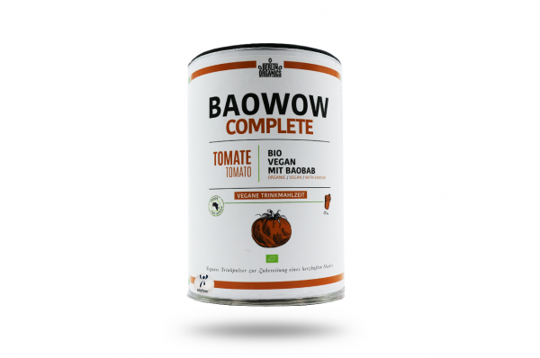 Berlin Organics BIO Vergane Trinkmahlzeit BAOWOW Complete Tomate 400 g