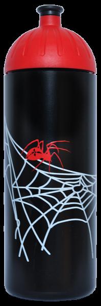 ISYbe Trinkflasche schwarz Spinne 0,7 L