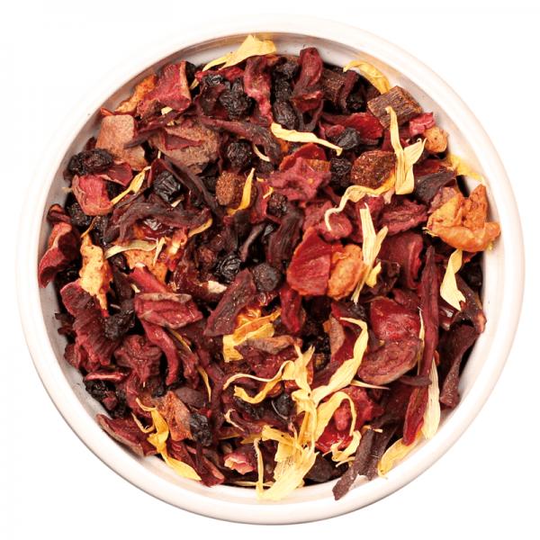 ISYbe BIO Tee: Früchtetee Vanille 100g Inhalt