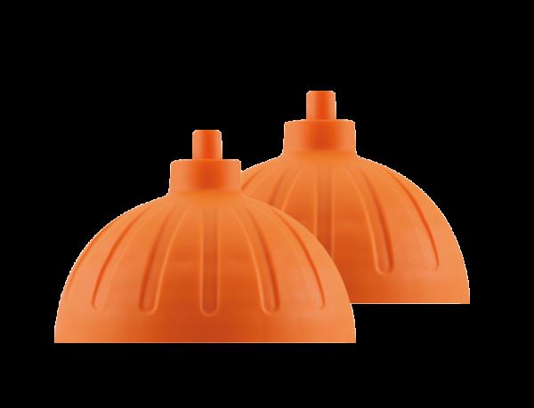 ISYbe Ersatzdeckel (2 Stück) - orange