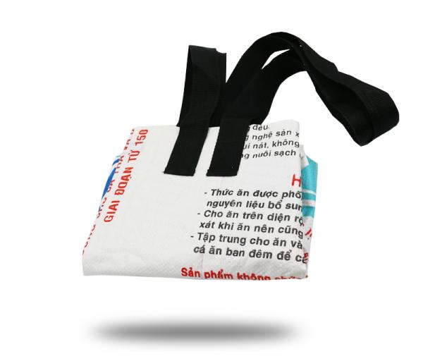 ISYbe Bag Einkaufstasche Groß - weiß vorne