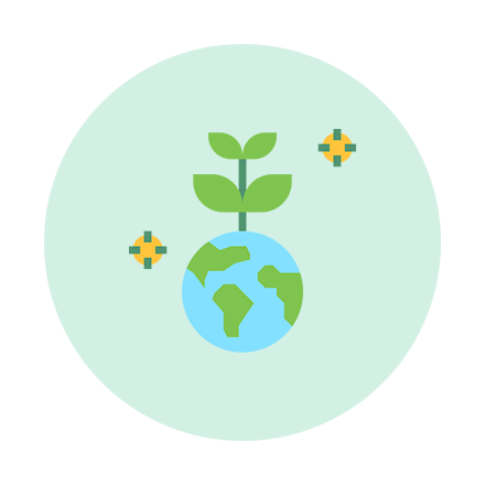 Umweltschonend-Icon