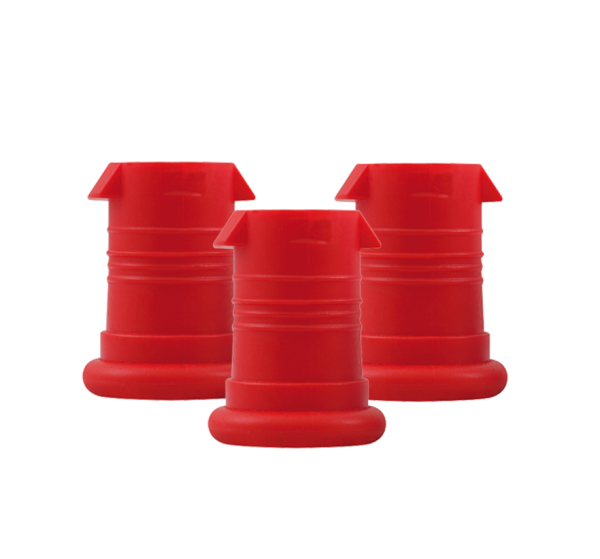 ISYbe Mundstück (3 Stück) - rot