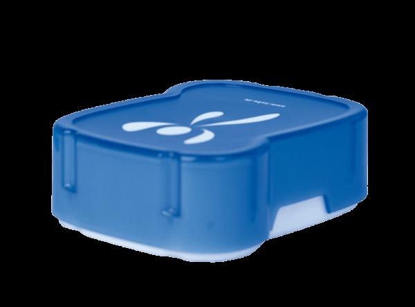 ISYbe flexible Brotbox blau