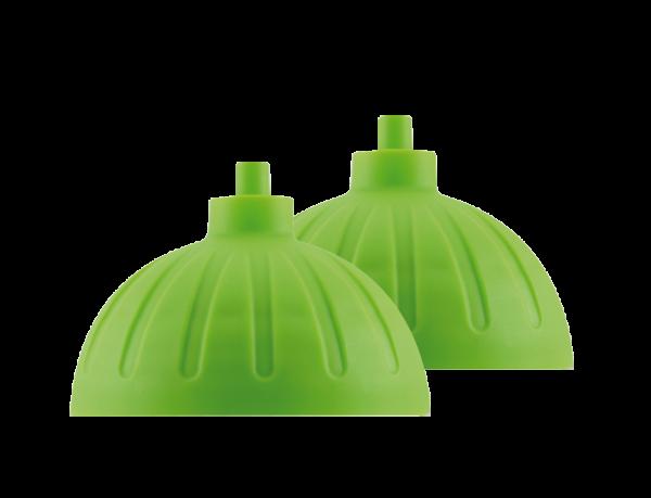ISYbe Ersatzdeckel (2 Stück) - hellgrün