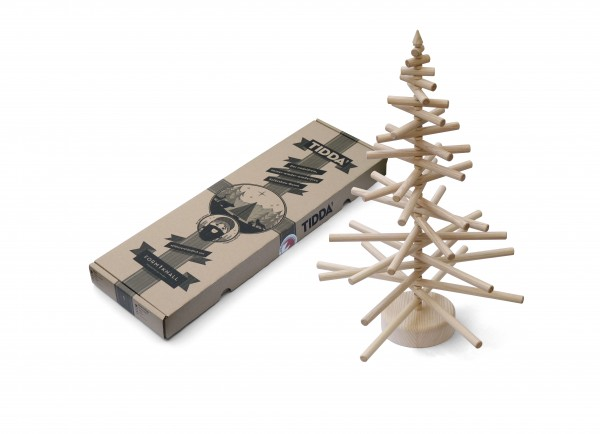 Kreativer Tidda Esche Holz Weihnachtsbaum - übersicht