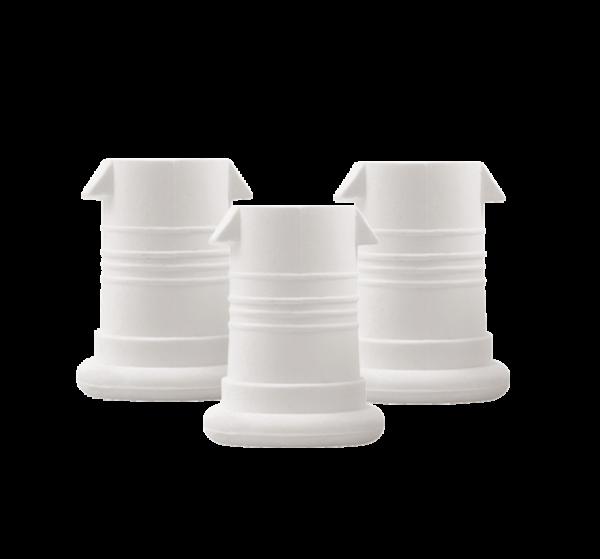 ISYbe Mundstück (3 Stück) - weiß