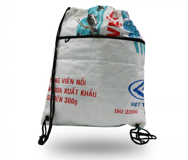ISYbe Bags Turnbeutel - weiß vorne