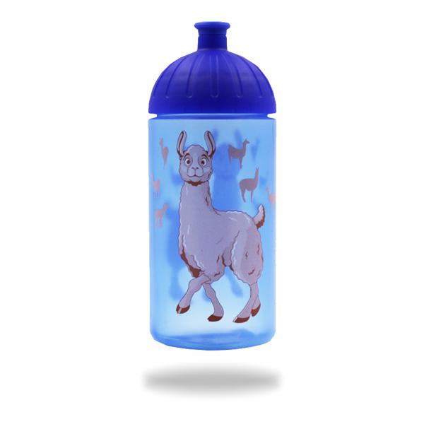ISYbe Trinkflasche Lama 0,5 L - blau